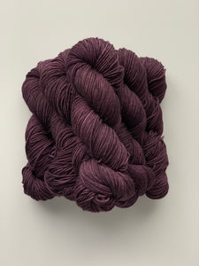 Black Plum - Worsted Squish
