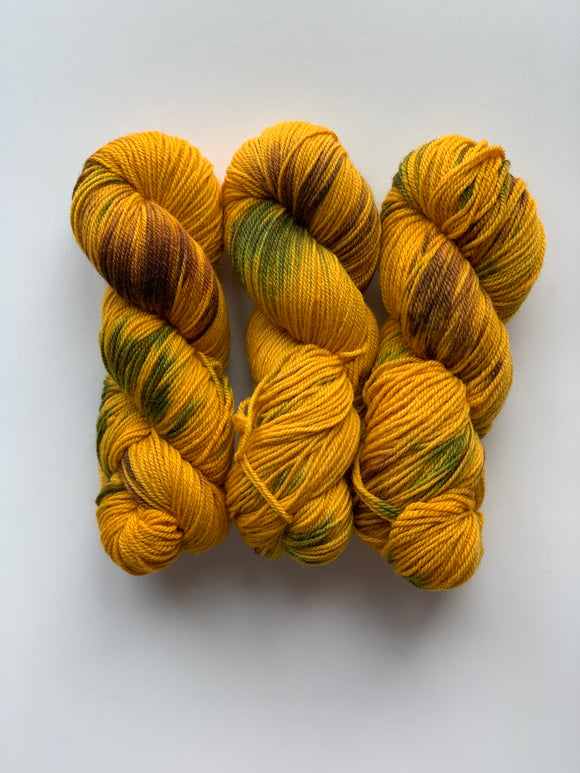 Yellow Pansy - BFL Squish