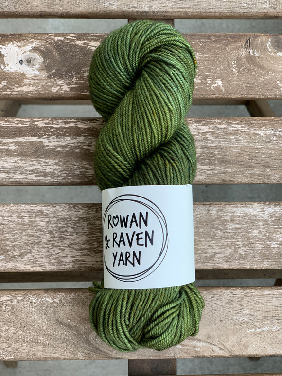 Moss - BFL Squish - Worsted