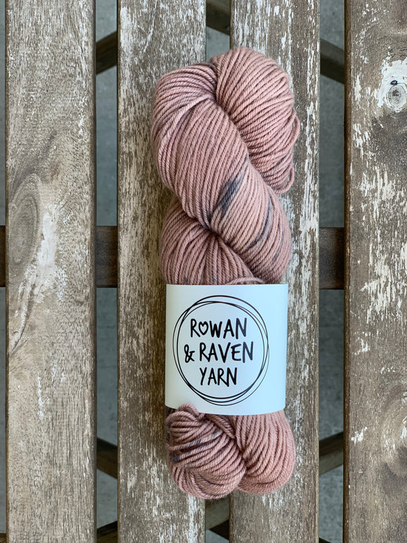Rusty Rose - BFL Squish - Worsted