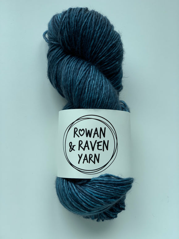 Deep Teal - Squish Singles - Worsted
