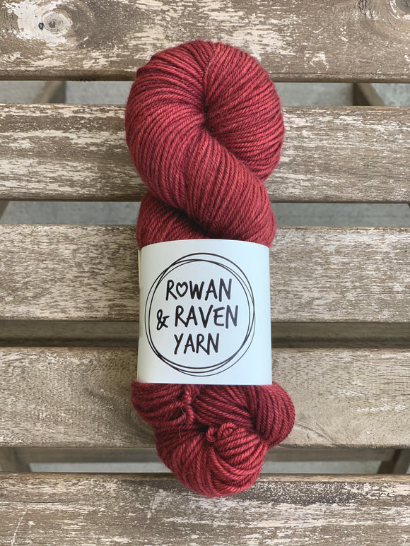 Red Clay - BFL Squish - Worsted