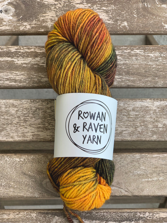 Falling for Autumn - BFL Squish - Worsted