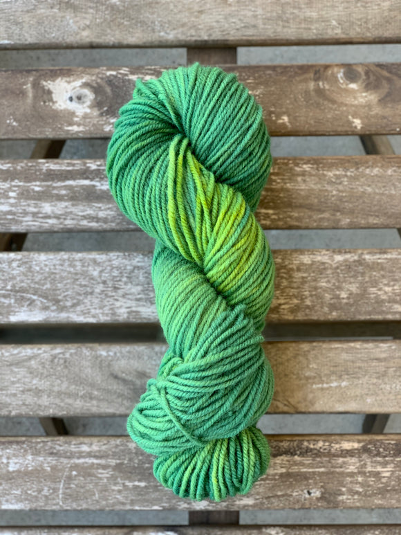 Lime Green Party - Revolution Wool Co Harvest