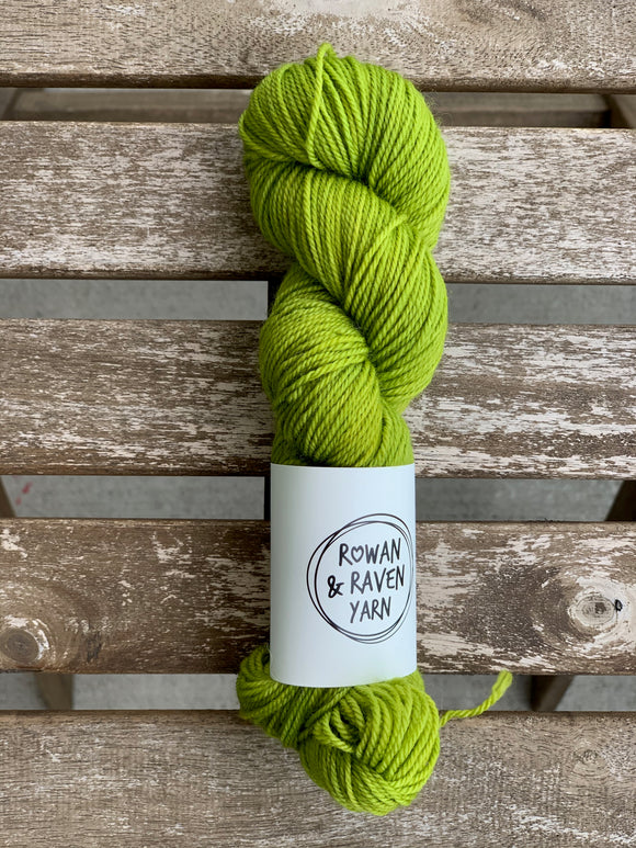 Chartreuse - Sock Squish HALVES