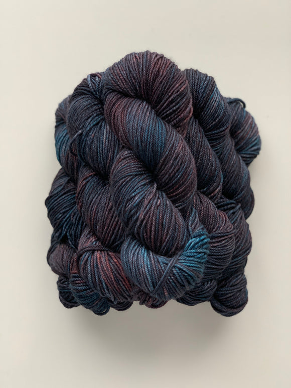 Deep Teal - Worsted Squish
