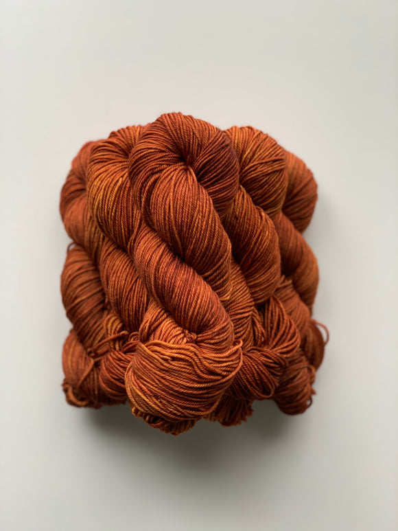 Burnt Orange - Worsted Squish