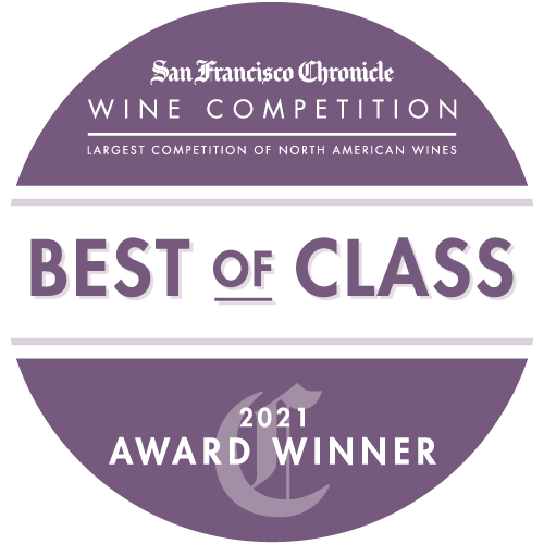 Best of Class / Double Gold Awarded by SF Chronicle Wine Competition