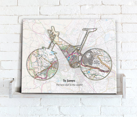 Personalised Favourite Place Maps