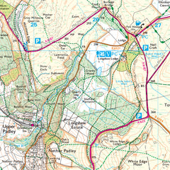 Explorer Map of Longshaw