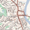 Map Placemats - Personalised Ordnance Survey Street Map - Love Maps On... - 2