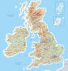 Map Wallpaper  - British Isles