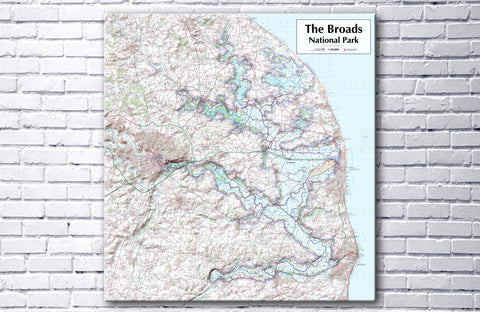 The Broads National Park - Canvas Print