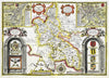 Map Canvas - Vintage County Map - Buckinghamshire - Love Maps On... - 2