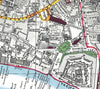 Map Wallpaper - London Streetmap - Stanford's Map of London 1891 - Love Maps On... - 4