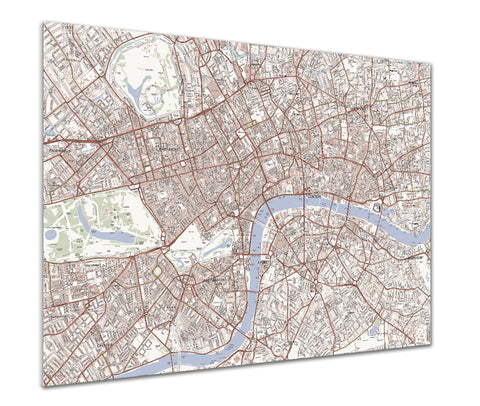 Map Poster - Custom Ordnance Survey Streetmap - Classic