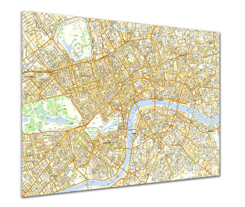 Map Poster - London Streetmap - Ordnance Survey