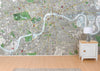 Map Wallpaper - London Streetmap - Stanford's Map of London 1891 - Love Maps On... - 2