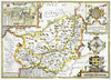 Map Wallpaper - Vintage County Map - Carmarthenshire - Love Maps On... - 3