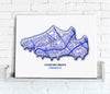 Football Stadium Map - Canvas Print - Love Maps On... - 9