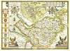 Map Wallpaper - Vintage County Map - Cheshire - Love Maps On... - 3