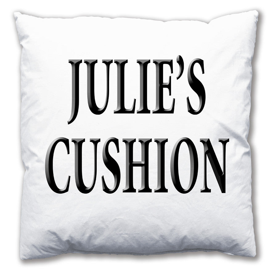 Personalised Name Cushion - Love Maps On... - 1