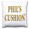 Personalised Name Cushion - Love Maps On... - 3