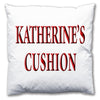Personalised Name Cushion - Love Maps On... - 5