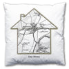 Personalised House Map Cushion - Love Maps On... - 3