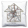 Personalised House Map Cushion - Love Maps On... - 4