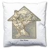 Personalised House Map Cushion - Love Maps On... - 5