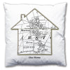 Personalised House Map Cushion - Love Maps On... - 6