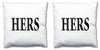 Word Cushions - set of Two - Love Maps On... - 7