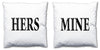 Word Cushions - set of Two - Love Maps On... - 8