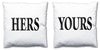 Word Cushions - set of Two - Love Maps On... - 11