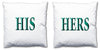 Word Cushions - set of Two - Love Maps On... - 36