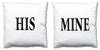 Word Cushions - set of Two - Love Maps On... - 2