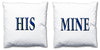 Word Cushions - set of Two - Love Maps On... - 20