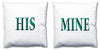 Word Cushions - set of Two - Love Maps On... - 50
