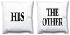 Word Cushions - set of Two - Love Maps On... - 3