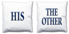 Word Cushions - set of Two - Love Maps On... - 21
