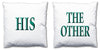 Word Cushions - set of Two - Love Maps On... - 37