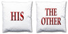 Word Cushions - set of Two - Love Maps On... - 55