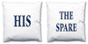 Word Cushions - set of Two - Love Maps On... - 22