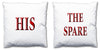 Word Cushions - set of Two - Love Maps On... - 56