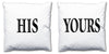 Word Cushions - set of Two - Love Maps On... - 5