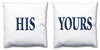 Word Cushions - set of Two - Love Maps On... - 23
