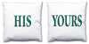 Word Cushions - set of Two - Love Maps On... - 39