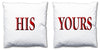 Word Cushions - set of Two - Love Maps On... - 57