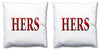 Word Cushions - set of Two - Love Maps On... - 58